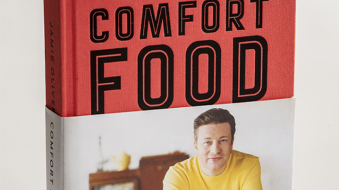 Book Review: Jamie Oliver's Comfort Food.