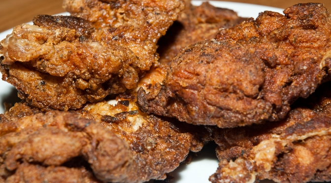 Cooking: Fried Chicken!