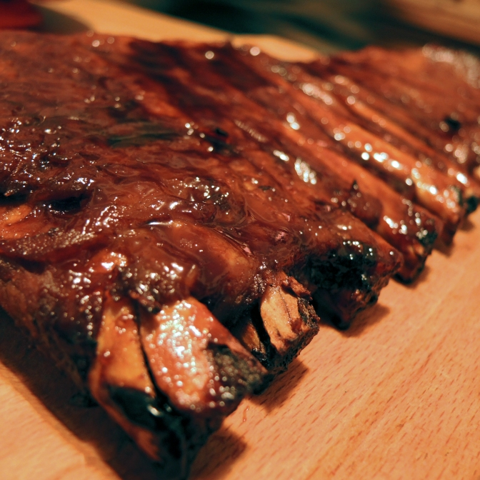 Cooking: Barbecue Glazed Pork Ribs (Not Barbecued)