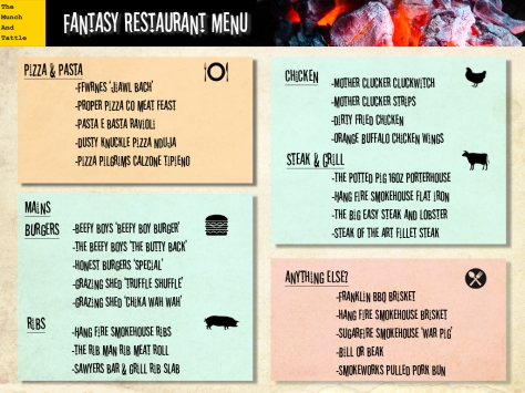 Fantasy Menu in progress