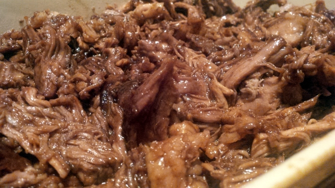 Cooking:  Pulled Pork (Not Barbecued)