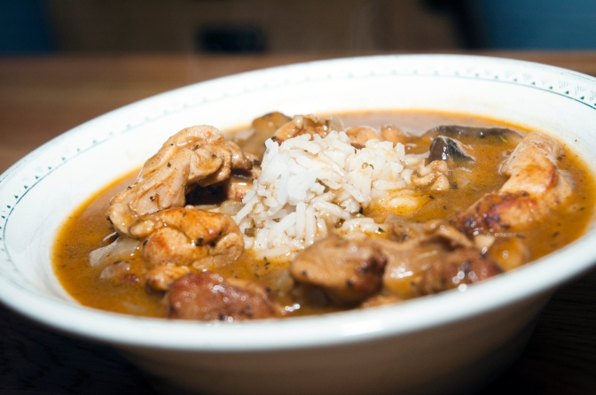 Cooking: Chicken Gumbo!