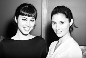 Hemsley + Hemsley Black and White Portrait VOGUE