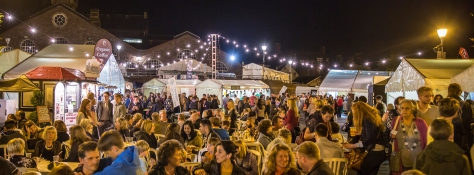 Night Market in Brewery Yard - Tim Woodier crop