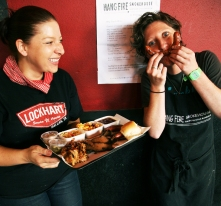 HangFire Smokehouse bring Southern cooking to the Big Day Out