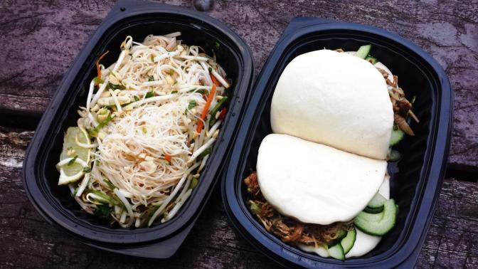 Hokkei: Peking Duck Baos and Rice Noodle Salad