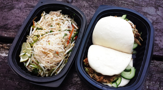Hokkei: Peking Duck Baos and Rice Noodle Salad
