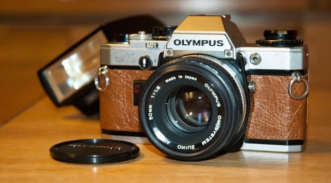 """""""New"""" Camera.  Olympus OM10"""