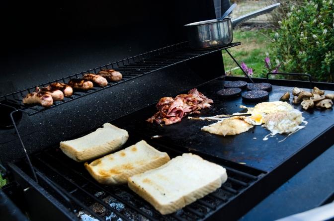 Breakfast on the BBQ