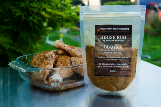 CountryWoodSmoke House Rubbed Chicken