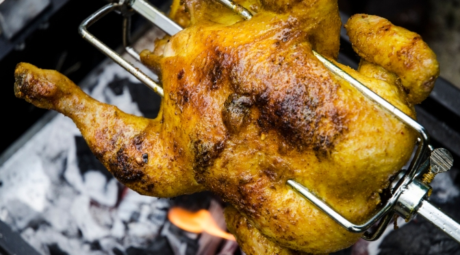 Spiced Mango & Lime Rotisserie Chicken